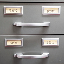 Drawers at NRLF