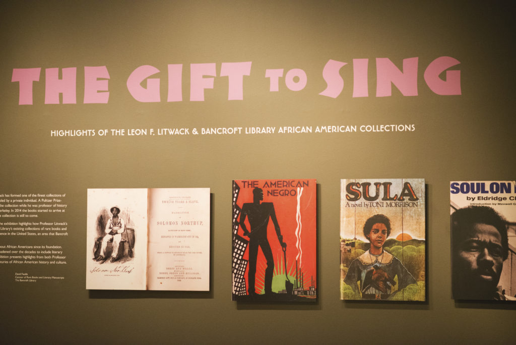 The Gift to Sing exhibit case