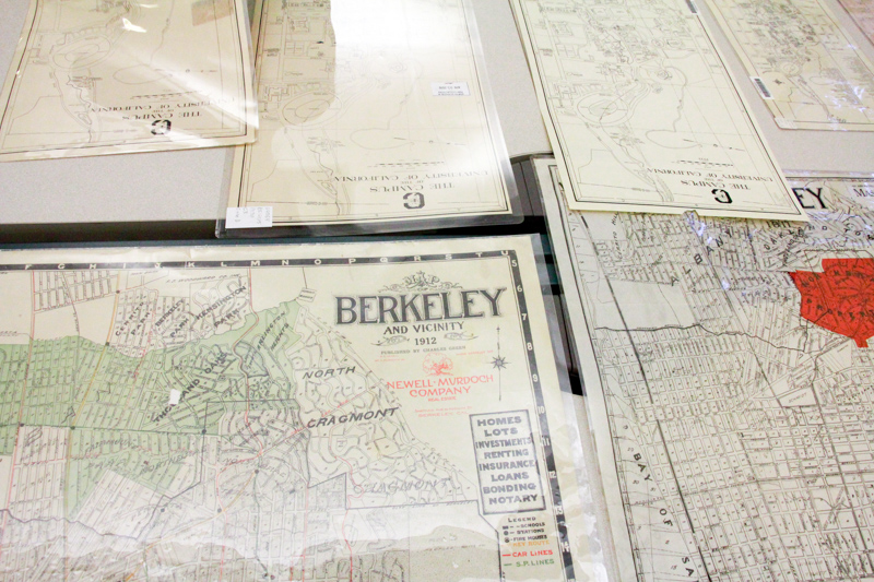 Maps of Berkeley and campus