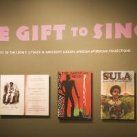 The Gift to Sing display case