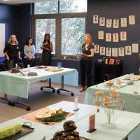 The Edible Book Festival in Moffitt Library