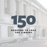 150 reasons to love the Library